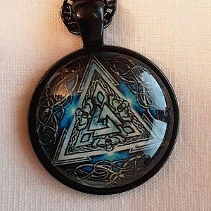 Norse Valknut Necklace